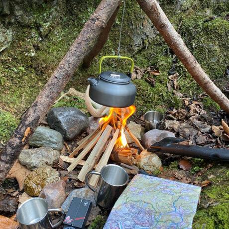 Familien Survival Camp – Feuer